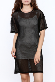 storia Fishnet Dress - Front cropped