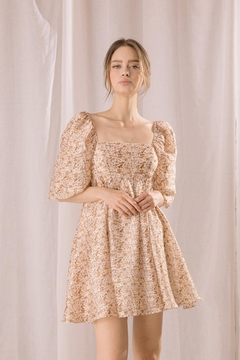 storia Floral Babydoll Dress - Product List Image