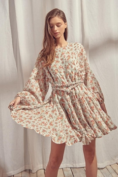 Shoptiques Product: Floral Cotton Dress