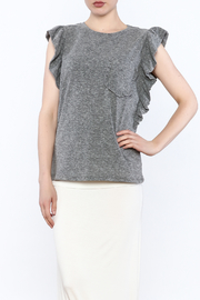 storia Flutter Sleeve Top - Product Mini Image