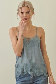 storia Lace Cami Top - Front cropped