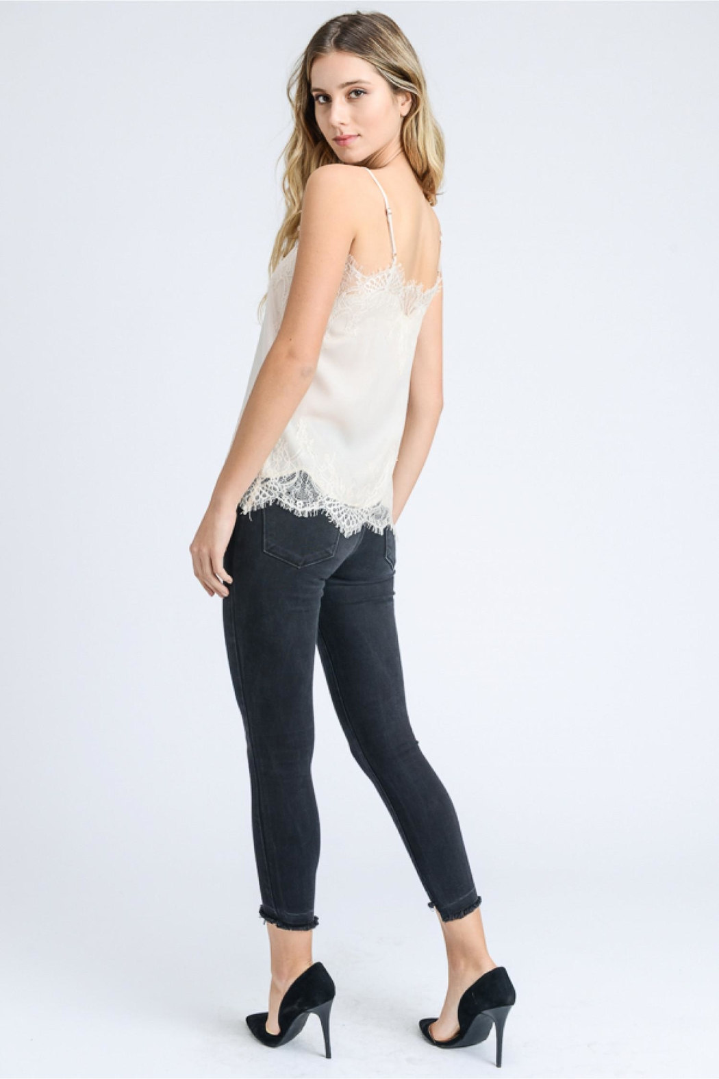 storia Lace Detail Cami - Front Full Image