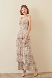 storia Layered Floral Maxi - Product Mini Image