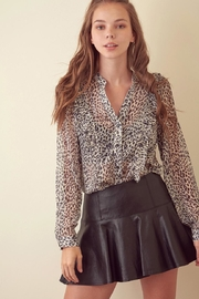storia Leopard Long-Sleeve Top - Product Mini Image