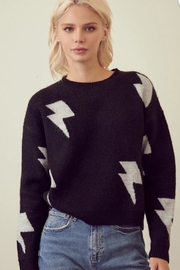 storia Light Me Up Sweater - Front cropped