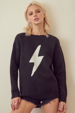 Shoptiques Product: Lightning Bolt Sweater