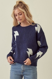 storia Lightning Pullover Sweater - Product Mini Image