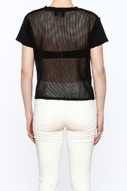 storia Mesh Back Top - Back cropped