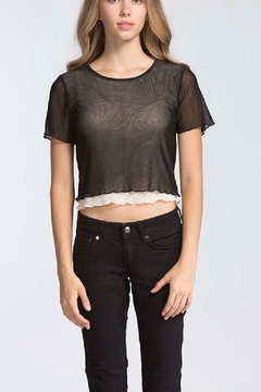storia Mesh Layered Top - Product List Image