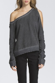 storia Off The Shoulder Sweatshirt - Product Mini Image