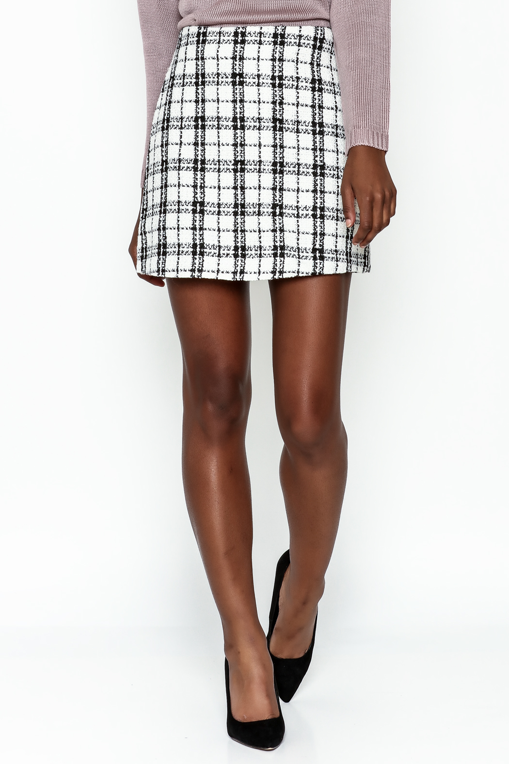 storia Plaid Skirt - Main Image
