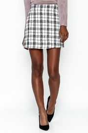 storia Plaid Skirt - Front cropped