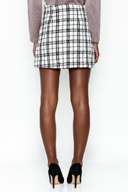 storia Plaid Skirt - Back cropped