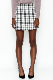 storia Plaid Skirt - Front full body