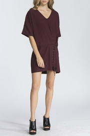storia Plum Tunic Dress - Side cropped