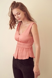storia Rose Pink Top - Front full body
