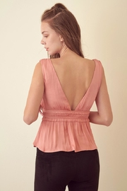 storia Rose Pink Top - Back cropped