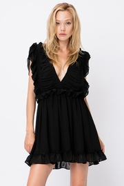storia Ruffle Detail Dress - Product Mini Image