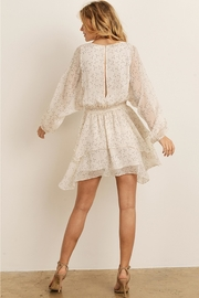 storia Ruffled Dot Dress - Side cropped
