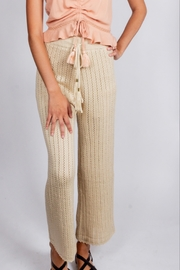 storia Sandy Crotchet Pants - Product Mini Image