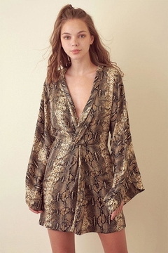 Shoptiques Product: Snake Mini Dress