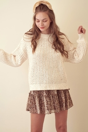storia Sparkle Knitted Sweater - Product Mini Image