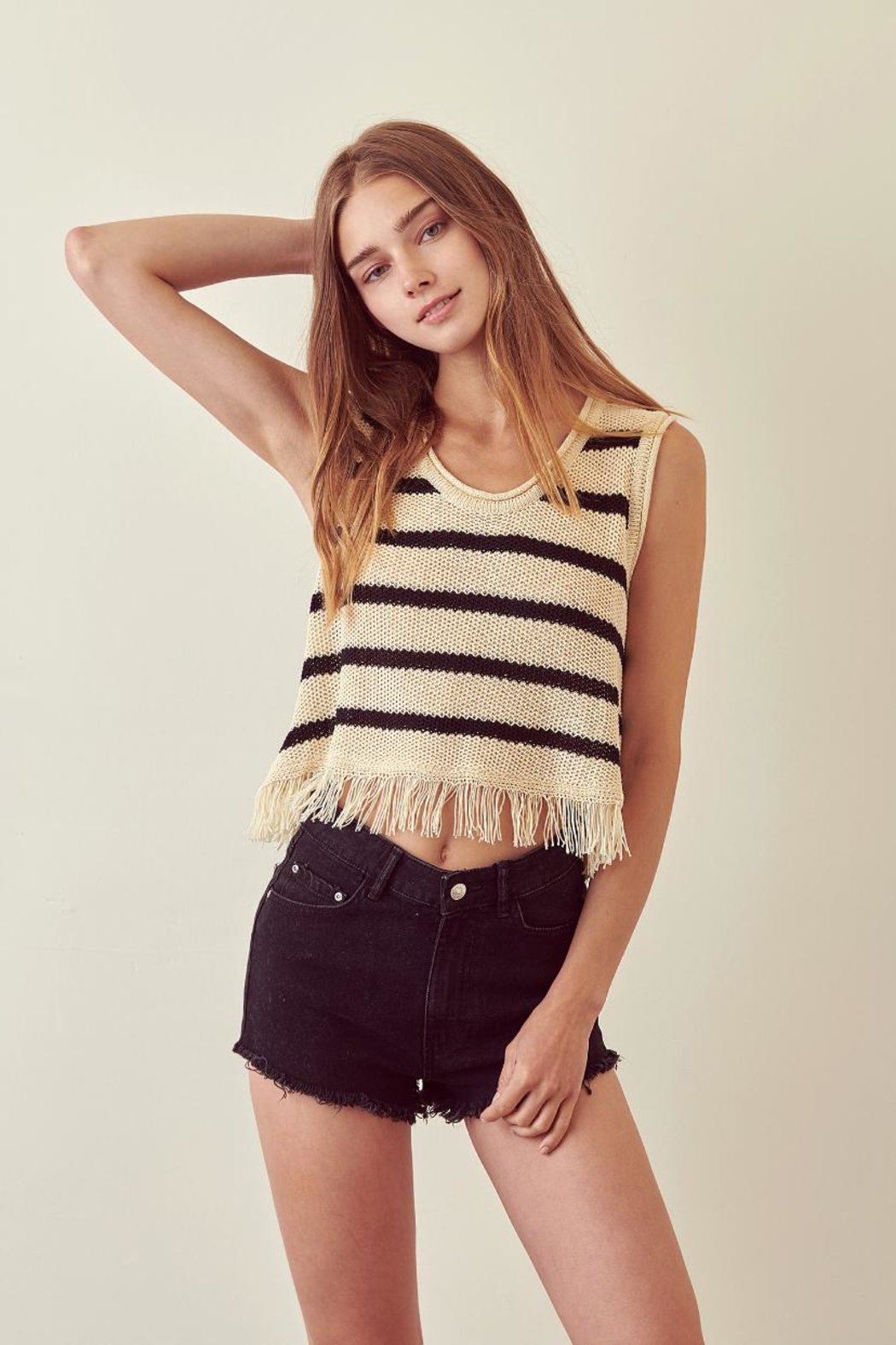 storia Striped Top - Main Image
