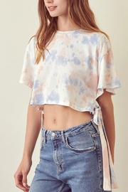 storia Tie-Side Tie-Dye Cropped - Product Mini Image