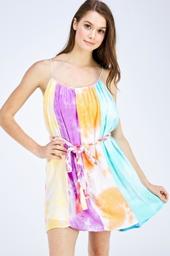 Shoptiques Product: Tiedye Mini Dress