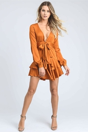 storia Tiered Mini Dress - Front full body