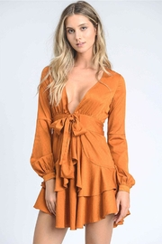 storia Tiered Mini Dress - Front cropped