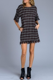 storia Tweed Dress - Front full body