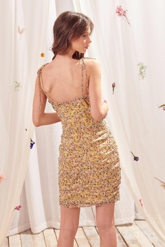 storia Yellow Floral Dress - Alternate List Image
