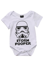 Pickles & Olive's Storm Pooper Onesie - Product Mini Image