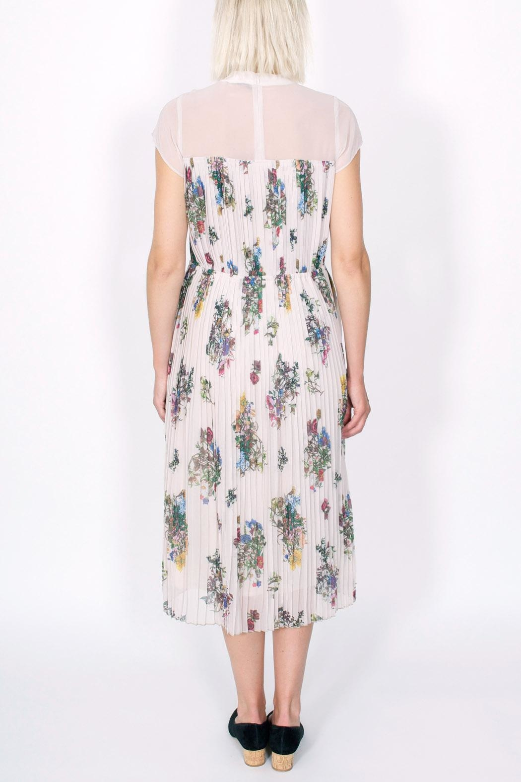 Storm & Marie Palm Floral Dress - Side Cropped Image