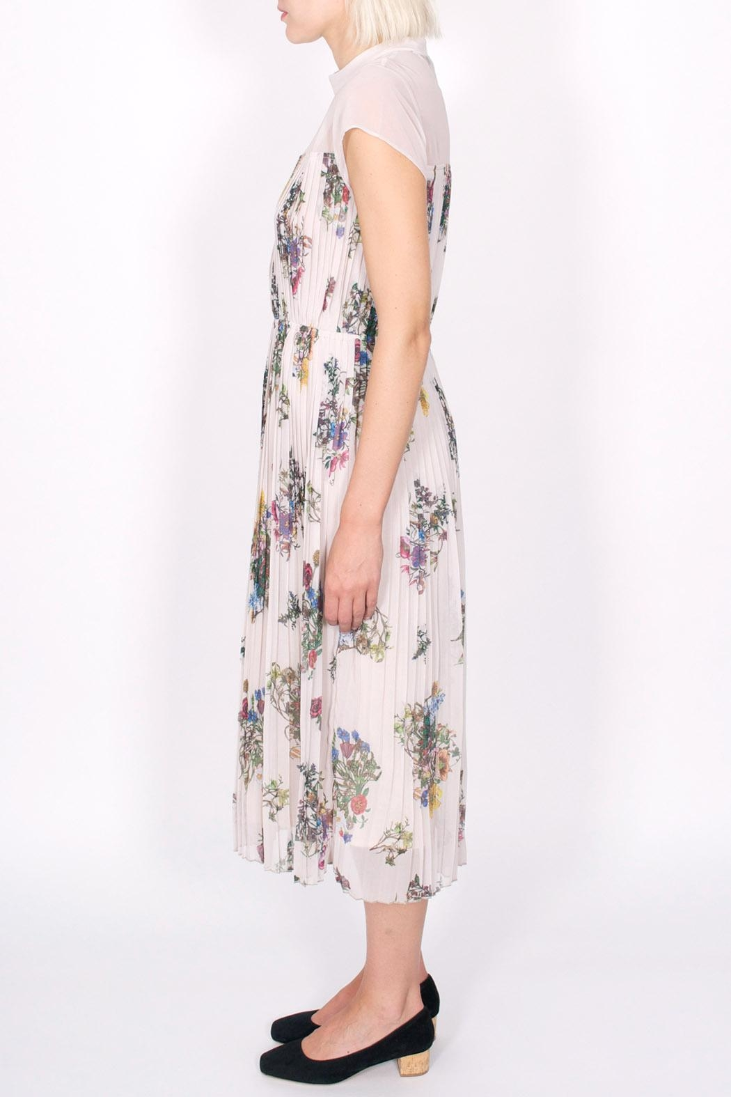 Storm & Marie Palm Floral Dress - Front Full Image