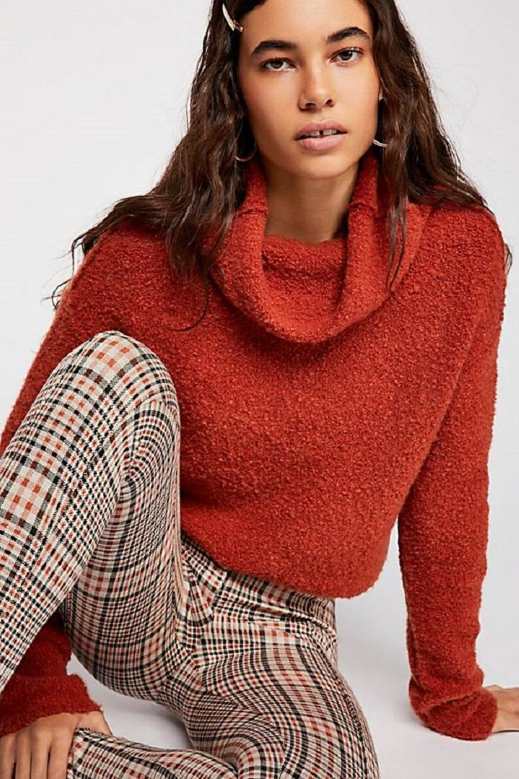 Free People Stormy Pullover - Back Cropped Image