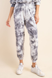 Sung Light Stormy Skies Joggers - Product Mini Image