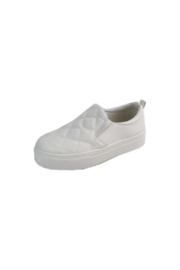 Bamboo Story-02 Quilted Sneaker - Front cropped