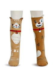 DEMDACO Story-Time Cat-And-Dog Sock-And-Book-Set - Other