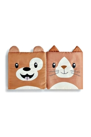 DEMDACO Story-Time Cat-And-Dog Sock-And-Book-Set - Front full body
