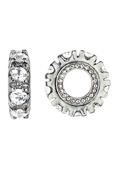 Storywheels 14 Kt White Gold And White Topaz Wheel - Product List Image