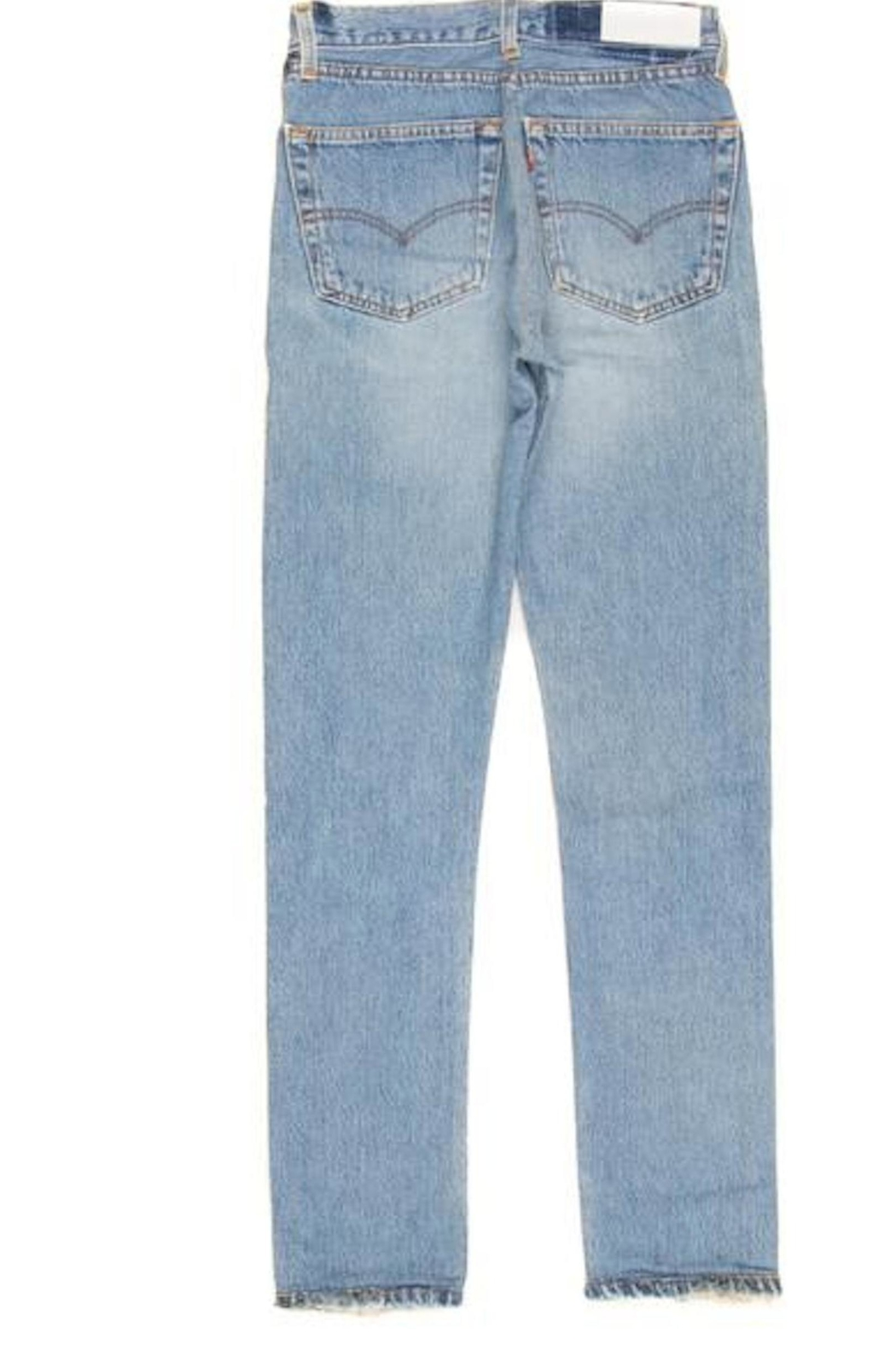 RE/DONE Straight Blue Jeans - Main Image