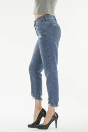KanCan Straight Crop Jeans - Side cropped