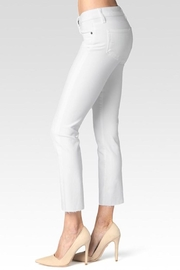 Paige Premium Denim Straight Cropped Jean - Front full body