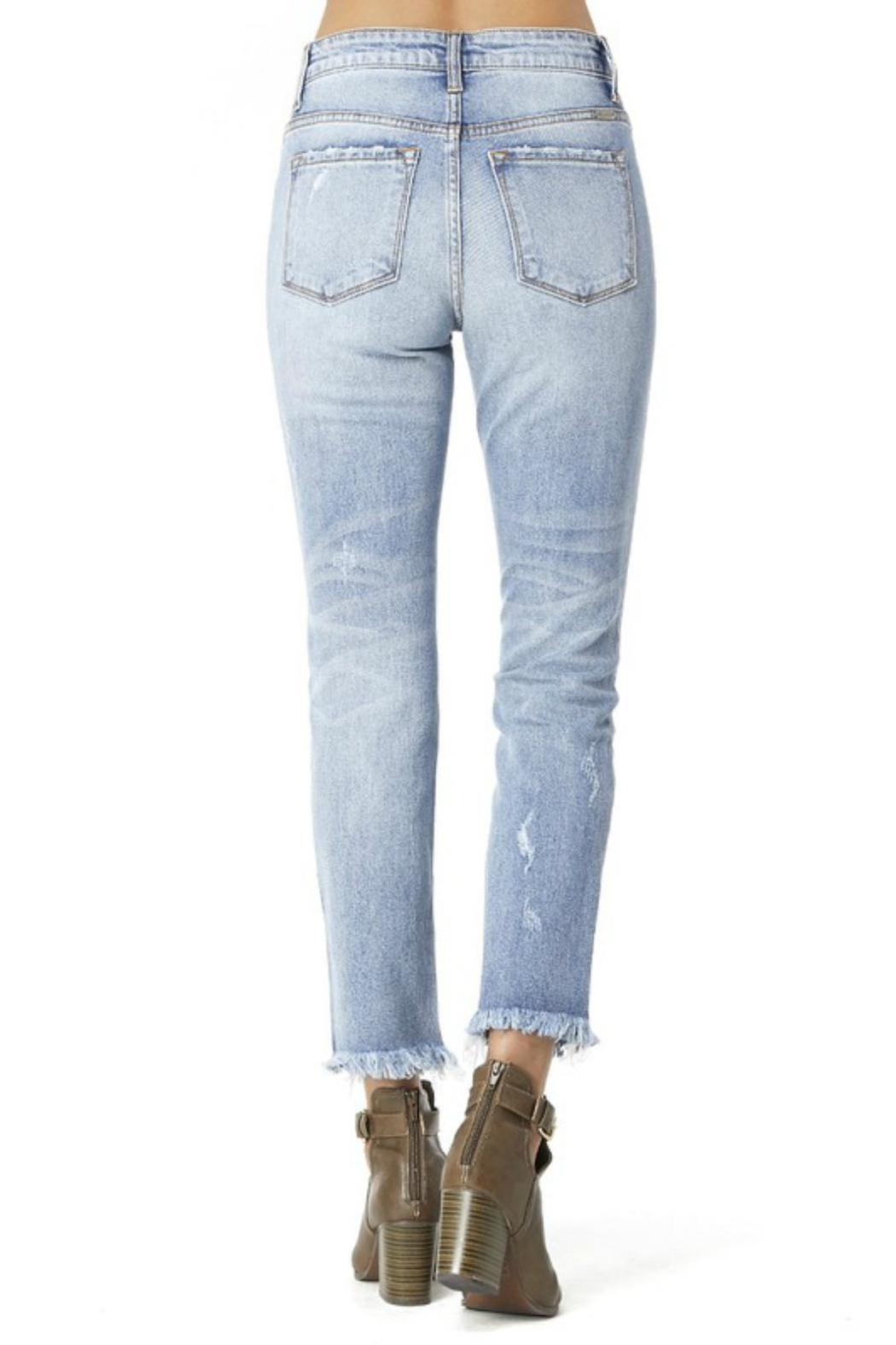 Pretty Little Things Straight Leg Denim - Side Cropped Image