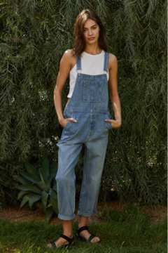 By Together  Straight Leg Overalls - Alternate List Image