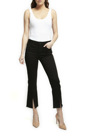 Black Tape/Dex Straight Leg Pant w Front Slit - Product Mini Image