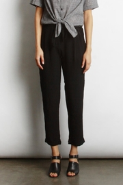 Mod Ref Straight-Leg Pants, Black - Product Mini Image