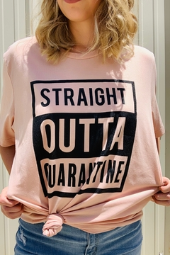 kissed Apparel Straight Outta Quarantine - Alternate List Image